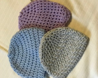 Crocheted Infant/Toddler Hats