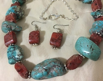 Necklace Turquoise Jewelry