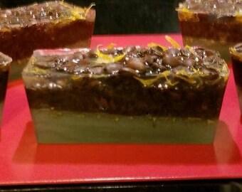 Gilded Goat Artisan Bar Soap Collection: Hawaiian Peppermint Mocha Coffee, Eucalyptus & Shea Butter