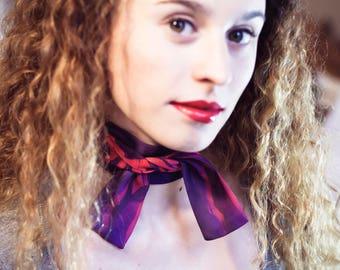 TSUKUYOMI collar scarf