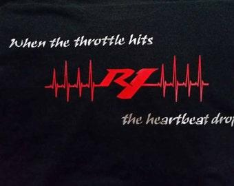 Yamaha R1 Motorcycle t-shirt