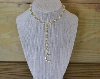 Moon Drop Choker