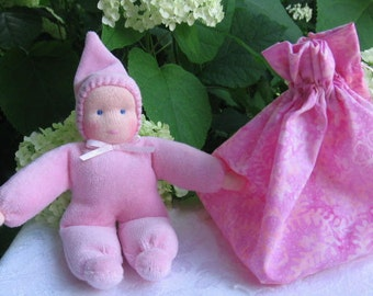Waldorf Gnome Baby Doll - Cool Stocking Stuffers for Tween Girls