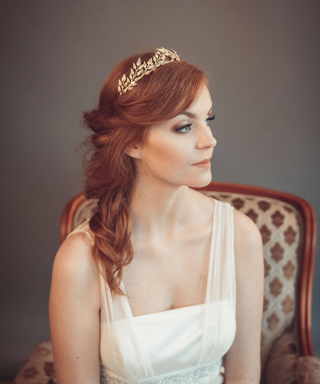 Greek goddesses hair accessories