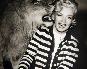 Being Normal Is Boring, Marilyn Monroe Photo Collection, digital download, printable