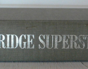 vintage textbook, Design of Bridge Superstructures, 1971, free shipping, from Diz Has Neat Stuff