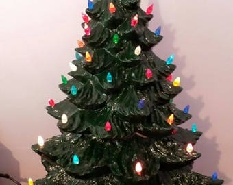 "23"" Ceramic Christmas Tree"