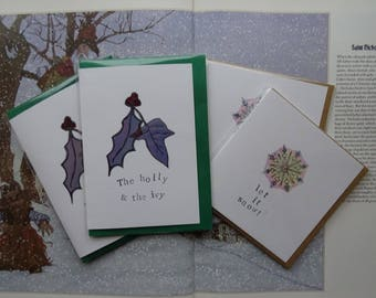 Special Christmas Cards ~ Pack of 4