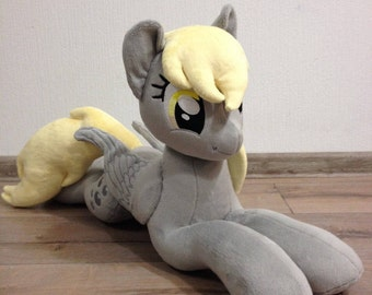 Plushie Derpy (known as Muffins and Ditzy Doo) - 65 cm long