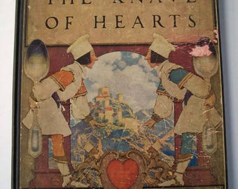 The Knave of Hearts by Louise Saunders with Pictures by Maxfield Parrish, First Edition