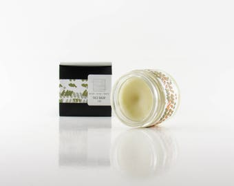 50% off Cleansing Balm: Face Balm , polish, salve , all natural, oil cleansing method, raw honey, moisturizer, non comedogenic , acne