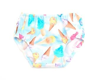 Ice Cream Dreams Diaper Cover