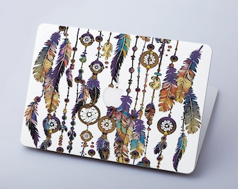 Feathers Macbook Air 13 Skin Macbook Pro 13 Decal Macbook Air Sticker Macbook Pro Skin Macbook Pro 15 Sticker Macbook Air Decal 11 RS3164
