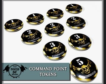 Warhammer 40K Compatible Command Point Tokens
