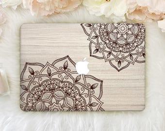 Mandala Macbook Pro 15 Hard Case Macbook 12 Hard Cover Macbook 13 inch Clear Case Hard Macbook Air Pro 13 Hard Case Laptop Clear Case YZ2028
