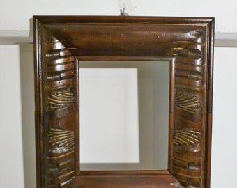 Carved Walnut wood Frame