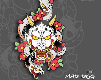 PREORDER Yakuza Mad Dog of Shimano [Enamel Pin]