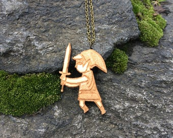 Legend of Zelda / Toon Link Windwaker Necklace