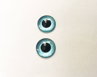 Blythe Eye Chip / hand painted #3 / 14mm