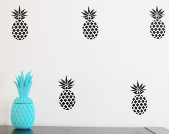 Pineapple Decals/ Wall Decal/ Boho Wall Decals/ Pineapple Vinyl Decals/ Nursery Wall Decor/ Pineapple Wall Art/ Baby Wall Decal/ Wall Decal