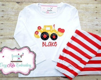 Boy's Valentine's Day shirt pants set, Valentine's day, Valentine day shirt, Valentines shirt, Boy Valentine's day shirt, Personalized shirt