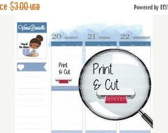 On Sale Cutting Machine Planner Stickers, Print and Cut Stickers, Silhouette Machine Stickers, Sticker Maker, Sticker Shop, Functional Stick