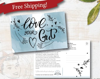 plexus postcard - Love Your Gut - Free Shipping