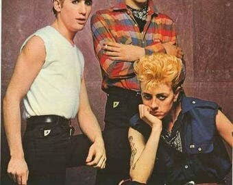 Stray Cats 1981 Band Portrait Rare Poster