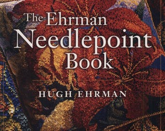 The Ehrman Needlepoint Book - eBook - Instant download - PDF file