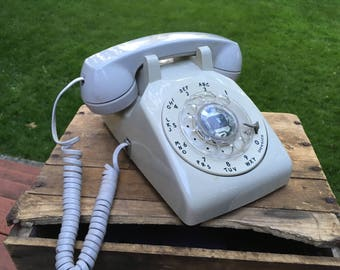 Vintage AT&T Rotary Dial Telephone