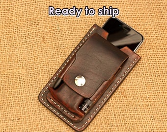 Custom edc pouch with iPhone case,edc pouch leatherman and iPhone case
