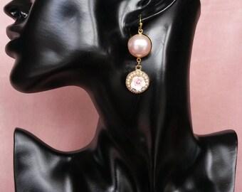 """""""Beauty & gentleness"""" Baroque earrings"""