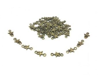 50 Bronze Star connectors