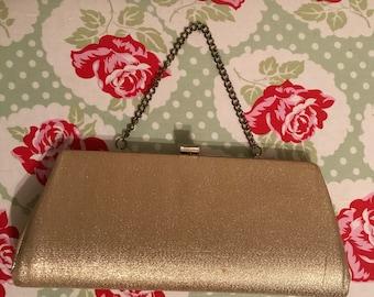 Vintage Clutch/Evening Bag/Gold
