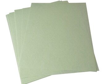 10 Pack 3M Light Green Wet or Dry Tri-M-Ite™ Polishing Papers 1 Micron 8000 Grit Jewelry Making Abrasive Sheets - POL-0146