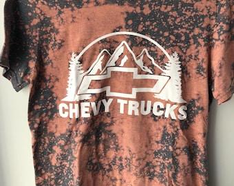 Distressed Chevy Trucks Tee