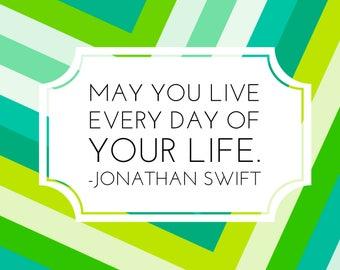 Quote magnet- Jonathan Swift