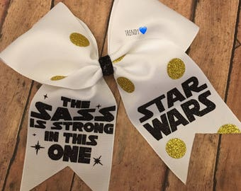 Sass is strong, starwars bow