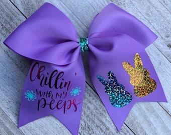 Easter Peeps bow