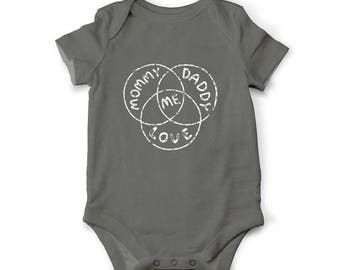 10% OFF SALE Cute baby bodysuit - The diagram of everything, Baby shower gift, Baby coming home outfit, Unique baby clothes