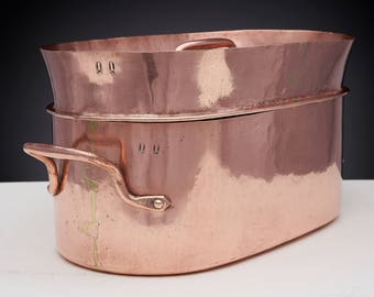 Antique French Copper Daubiere