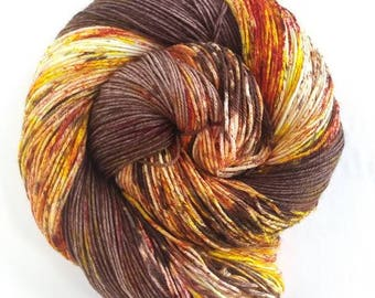 Groot in Autumn, Hand Painted Indie Dyed Yarn