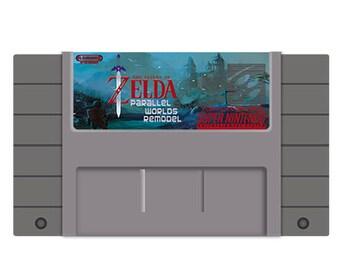 Legend of Zelda Parallel Worlds Remodel
