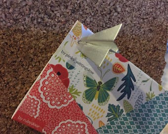 Metal Paper Airplane Thumbtacks, push pins, office supplies, urban,home decor, modern, silver airplane