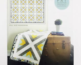 Reclaimed Quilt Pattern by Deena Rutter for Riley Blake Designs -Finished Size 93 x 93