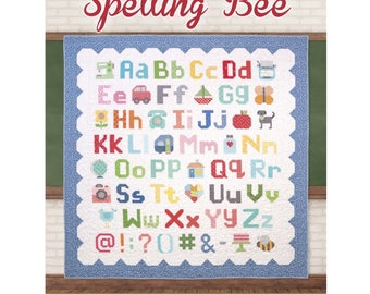 Spelling Bee Book by Lori Holt of Bee in my Bonnet for Its Sew Emma Publishing