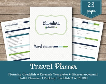 Travel Planner / Kenzie / Packing Lists / Vacation Planner / Holiday Planner / Travel Organizer / Travel Budget / Vacation Planning