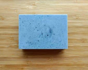 Charcoal and Goats Milk Bar, activated charcoal soap, goat's milk soap, bar soap, soap
