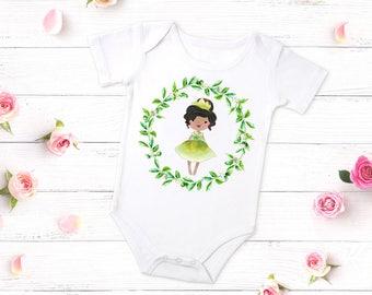 The Princess and the Frog, Princess Tiana, Princess Tiana Shirt, Princess Tiana Birthday Outfit, Princess Tiana Birthday Girl