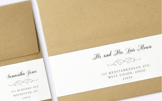 wrap around labels printable address labels wedding. Black Bedroom Furniture Sets. Home Design Ideas